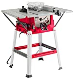 Lumberjack TS210SL Powerful 8' 1500W Bench Table Saw with Sliding Side Extension & 210mm Blade 240V