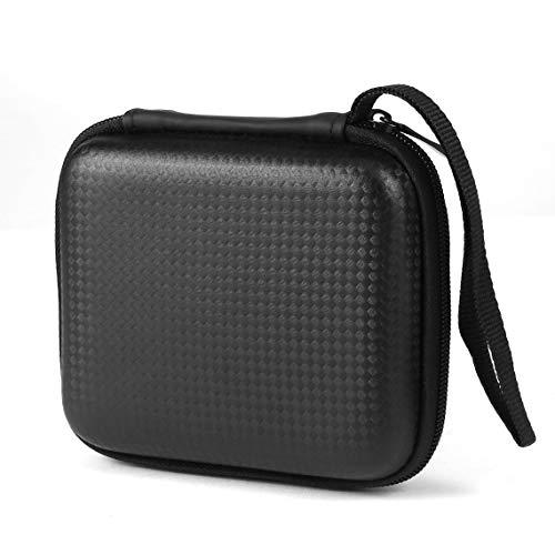 Zinniaya Bolsa de Almacenamiento Digital de Disco Duro portátil de 2.5 Pulgadas Funda de Transporte a Prueba de Golpes Estuche rígido de EVA Bolsa de Viaje de Disco Duro Externo