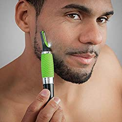Shop Story - Precision Trimmer for Nose Ear Neck Mustache Eyebrow Face Razor Shave Green