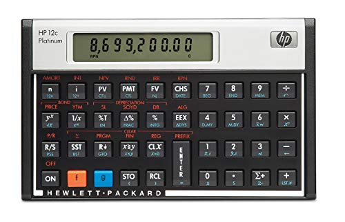 HP 12c Platinum Financial Calcul
