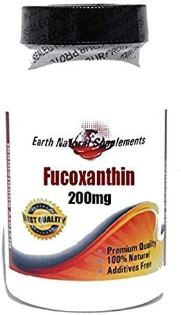 Fucoxanthin 200mg 200 Capsules 100% - Natural Special Popular products price for a limited time EarhNaturalSu by