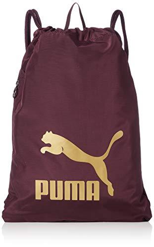 PUMA Originals Gym Sack Turnbeutel, Fig-Gold, OSFA