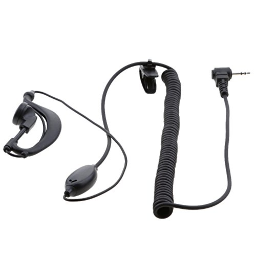 prasku 1 Pin 2.5mm Auricular PTT Mic para Radio HYT TC310 TC320 Motorola