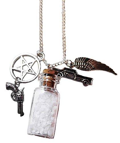 Supernatural Schutz-Halskette – Meersalz-Schutz-Medaillon