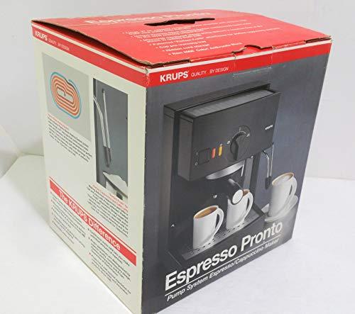 Review Of Krups Espresso Pronto #988