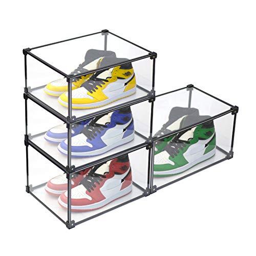 caja zapatos transparente fabricante Mivnue