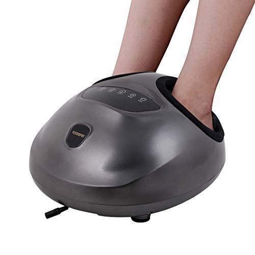 Flexispot Shiatsu Fußmassagegerät Elektrisch mit Wärmefunktion, waschbarer Fußbezug, einstellbare Intensität, für Haus Büro
