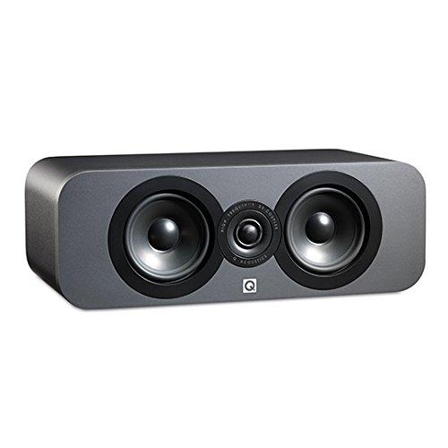 Q Acoustics 3090c Center Channel Speaker (Graphite)