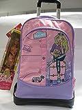 GUT Zaino Trolley Staccabile Scuola Barbie Malibù + Barbie Omaggio