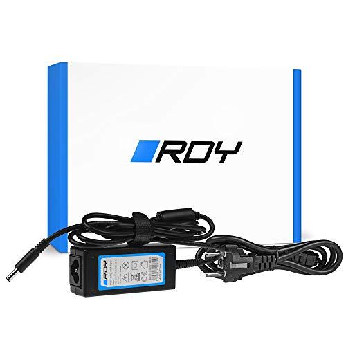 RDY 45W 19.5V 2.31A Cargador para Portátil DELL XPS 13 9343 9350 9360 Inspiron 15 3552 3567 5368 5551 5567 Ordenador Fuente de Alimentación Computadora Portátil Adaptador Connector: 4.5 x 3.0mm
