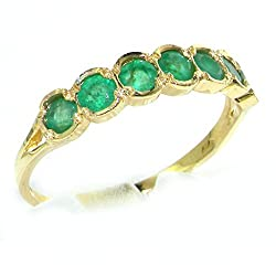 Made in England in our own traditional workshops by experienced family jewellers Genuine Natural Gemstones Completely Solid 9ct Yellow Gold, purity 375 Tested, Approved and Fully Hallmarked by either the London or Birmingham Assay Office Sent to you ...