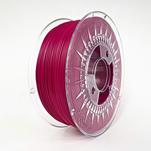Devil Design PLA Raspberry Red, 1.75mm, 1kg of high quality filament made in Europe