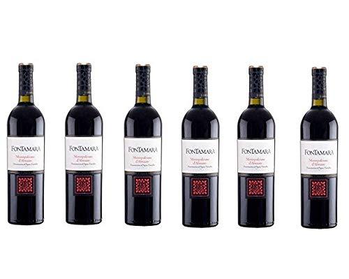 6 bottiglie di Vino Montefalco D'abruzzo 2018 D.O.C 6 x 0,75.