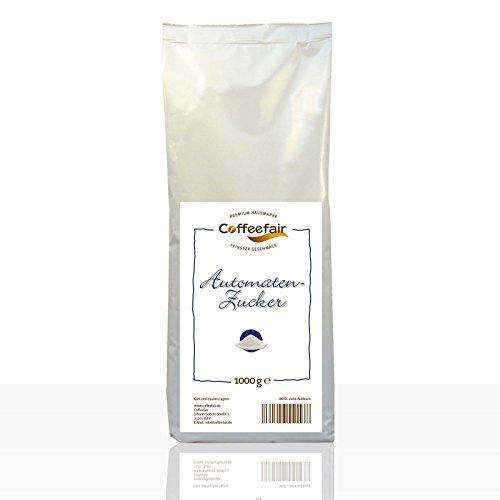 Automaten-Zucker von Coffeefair 10 x 1kg | Automatengängiger Feinzucker 1000g
