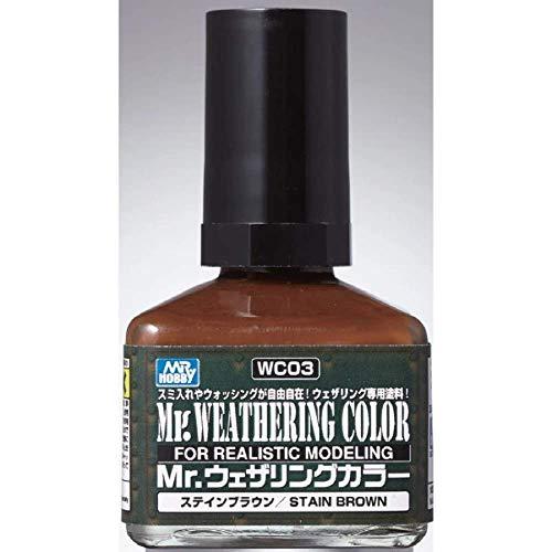 Mr.ウェザリングカラー ステインブラウン40ml