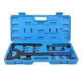 Hlyjoon 13pcs/Set Herramienta de sincronización del motor de coche Kit de acero al carbono Juego de herramientas de sincronización de cambio de cadena de distribución Ajuste para A6 Q5 Q7