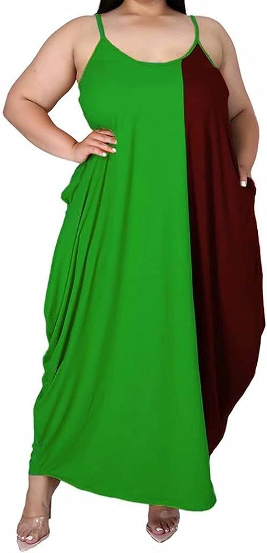 IyMoo ☆新作入荷☆新品 Women's Casual Sexy Plus 価格交渉OK送料無料 Size Flo Dresses Summer Long Maxi