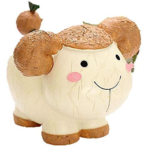 Preisvergleich Produktbild LHQ-HQ Dekorationen Art Craft Kindergeldbank-Geldkasten kreative Tierkreis Null Anzahlung Sparschwein Harz