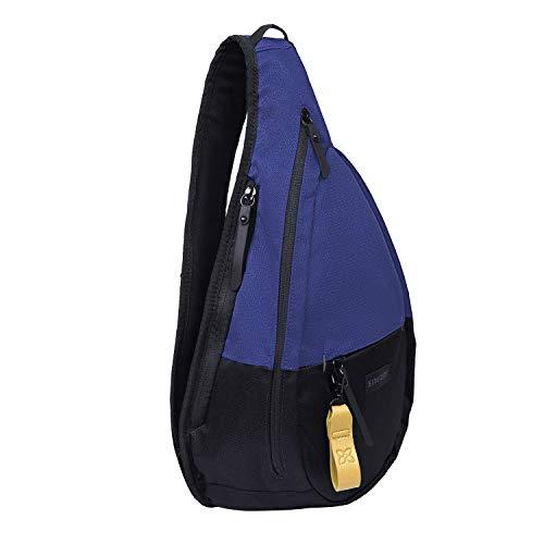 Sherpani Esprit, Nylon Sling Bag, Shoulder Sling Bag, Crossbody Sling Backpack for Women Fits 7 Inch Tablet, RFID Protection (Atlantic)