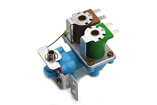 4318046 Ice Maker Water Valve Inlet AP3103466 Dual Coils for Kenmore Whirlpool