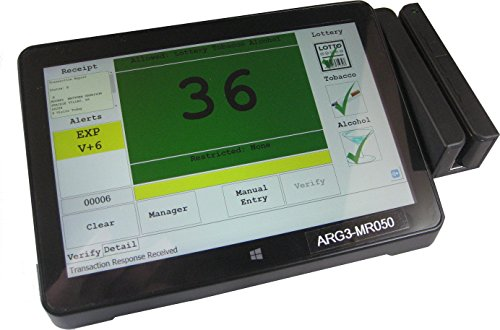 Price comparison product image ASGS-2: Age Verification and Visitor Management System with Built-in Reports and MSR2.