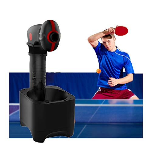 Amazing Deal FXnn Indoor/Outdoor Table Tennis Trainer Pingpong Ball Training Machine with Net,Ping Pong Robot for Training, 9 Kinds of Spins