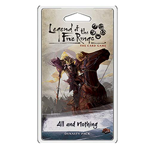 Fantasy Flight Games FFGL5C13 All and Nothing: L5R LCG, Multicolor