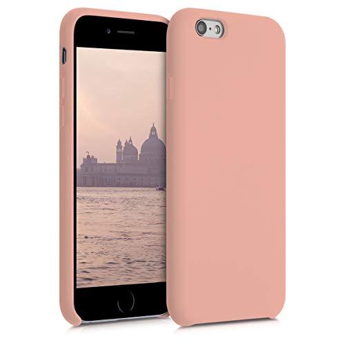kwmobile Cover Compatibile con Apple iPhone 6 / 6S - Custodia in Silicone TPU - Back Case Protezione Cellulare Pompelmo Rosa