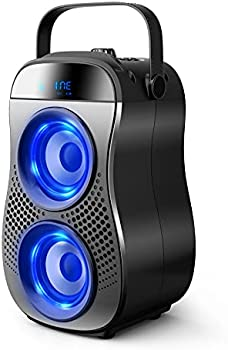TENMIYA 30W Portable Bluetooth Speaker with Double Subwoofer