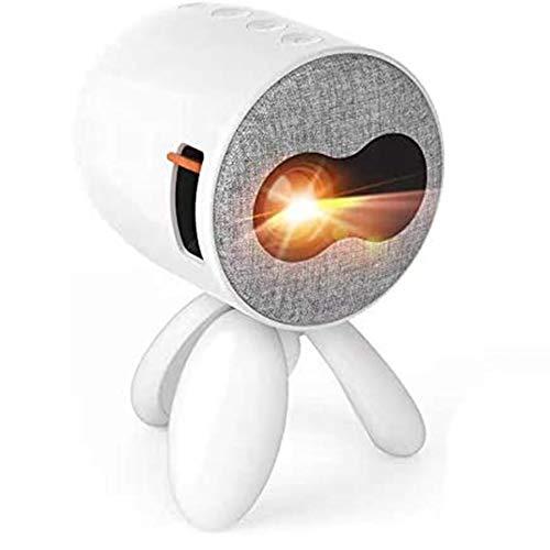 Huante YG221 - Proyector de carga para teléfono móvil (pantalla de 1080p, HD, USB, proyector para casa o cine en casa, regalo de regalo)