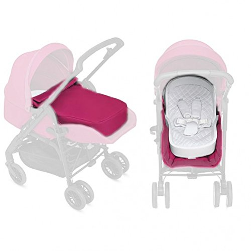 Inglesina Zippy Light – Kit da passeggino per neonati, colore: rosa