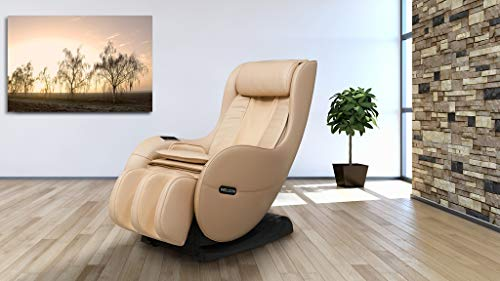 WELCON Massagesessel EASYRELAXX BEIGE - Massagestuhl mit Neigungsverstellung elektrisch, Automatikprogramme Knetmassage Klopfmassage Rollenmassage Airbagmassage Sessel Massagestuhl