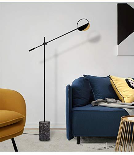 JDD vloerlamp 220 V hardware + terrasmateriaal eenvoudig te installeren voor woonkamer slaapkamer (voetschakelaar voor stopcontacten)