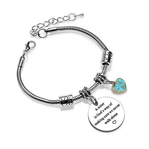 Sister Bracelet from Sister Best Friend Bracelet Women Bracelets Christmas Birthday Friendship