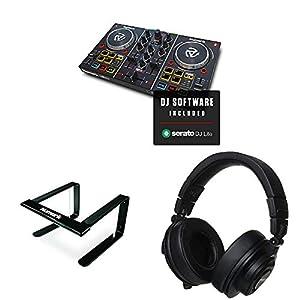 Numark コンパクト DJ初心者ヘッドホンセット DJコントローラー Party Mix +ヘッドホン + スタンド