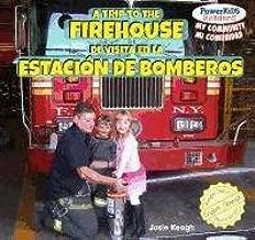 A Trip to the Firehouse / De Visita En La Estacion De Bomberos (Powerkids Readers: My Community / Mi Comunidad) (English and Spanish Edition)