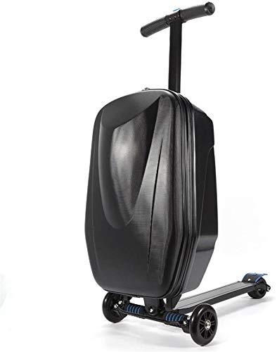AAZX Scooter de Equipaje de Mano de Viaje, Caja de...