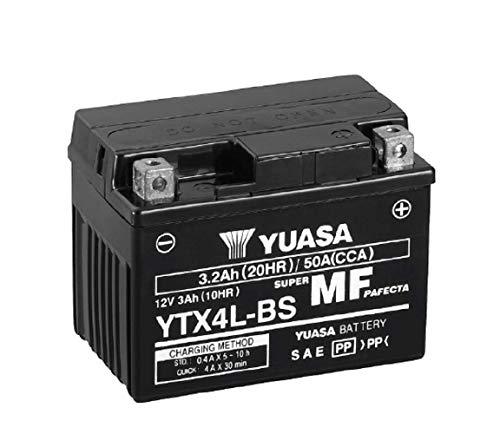 Yuasa 212045 YTX4L-Batería BS 12V