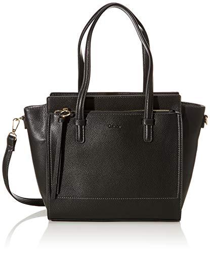 Gabor bags Umhängetasche Damen Rosaria, Schwarz, M, Handtasche, Tasche Damen