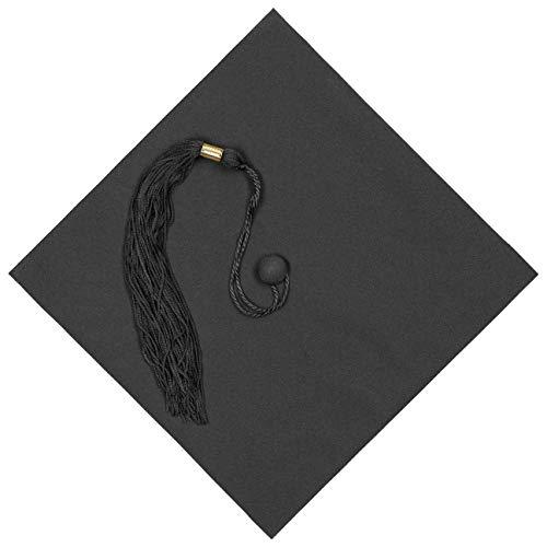 Lierys Birrete Colgante 2021, Sombrero de graduación, Celebrar el Fin de Estudios en la Universidad o el Instituto. Sombrero Universitario en Negro Talla única