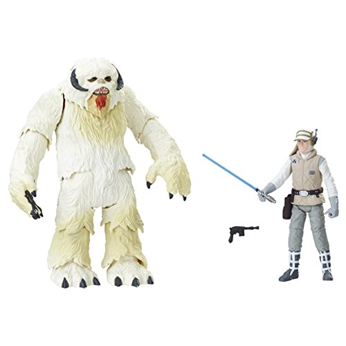 STAR WARS–Figura Pack de 2Wampa y Luke Hoth 10cm, e1689