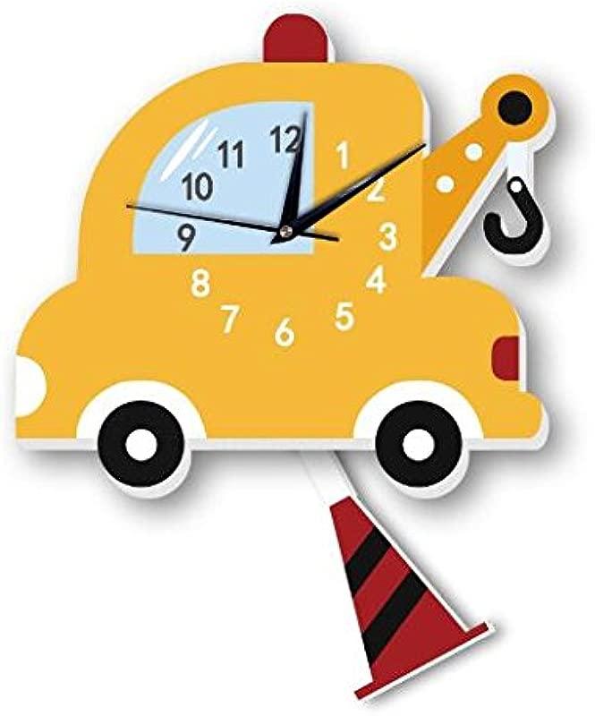 Sportskindom Crane Wall Clock Slient Quartz Clock Kids Cartoon Wall Bell 1