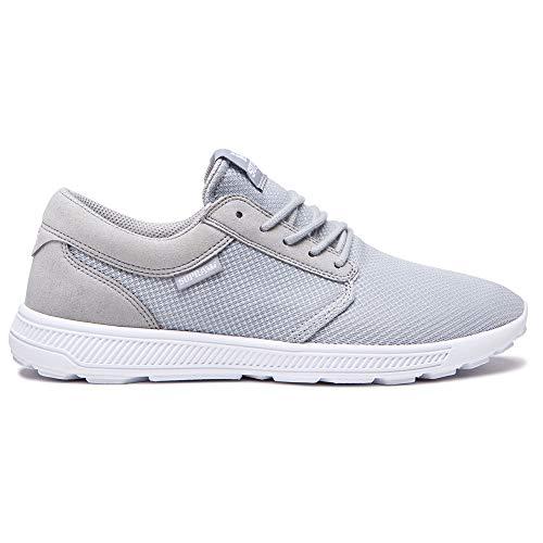 Supra Unisex-Erwachsene Hammer Run Sneaker, Grau (Grey/White-White 046), 45 EU