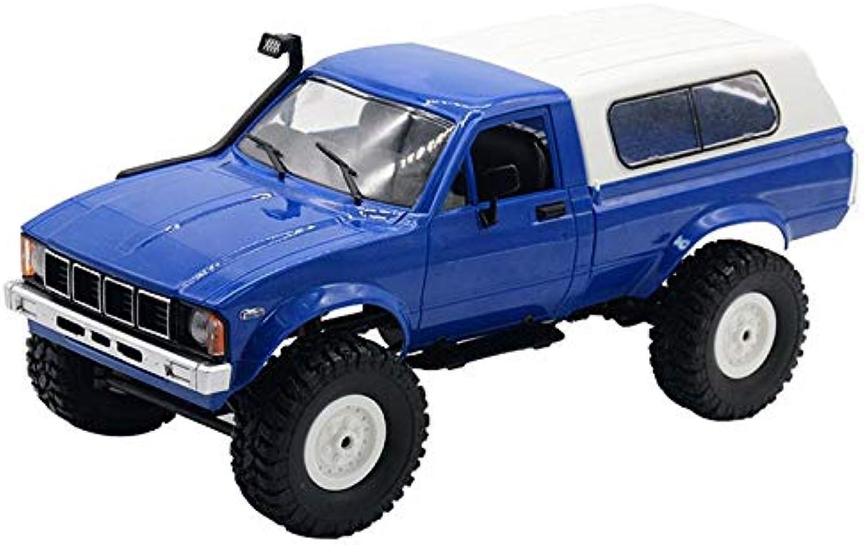 Generic Watchmen 1 16 WPL C24 2.4G DIY RC Car Remote Control Car RC Car bluee