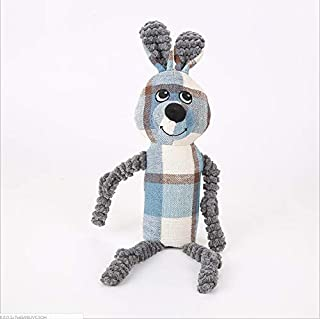 YOUNICER Dog Toys Cute Plush Toys for Small Medium Dog Tear-resistant Pet Toys Molar Toys