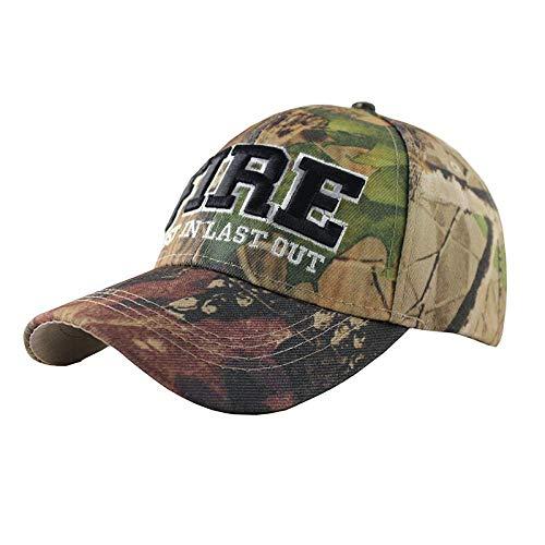 APcjerp Snapback Stickerei Camouflage Tactical Army Baseball Cap Sun Hat Golf Atmungsaktiv Schnell Trocknend Damen Herren Verstellbare Hüte (Farbe: LF2)