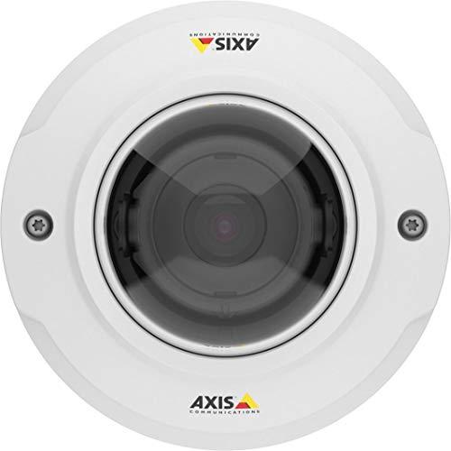 AXIS M3045-WV Netzwerkkamera, Dome, Farbe (Tag und Nacht) 2 MP, 1920 x 1080 1080p, M12 Montage, Feste Iris, Feste Brennweite, kabellos, HDMI, WLAN, LAN 10/100, MPEG-4, MJP