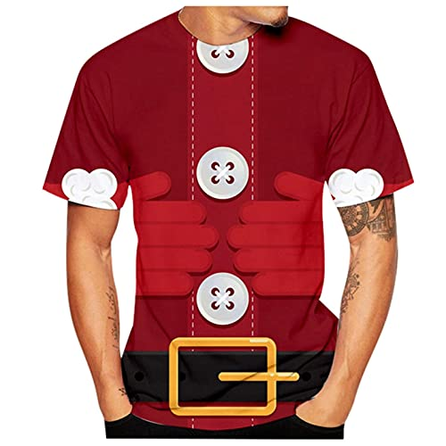 T-Shirt für Herren Kurzärmliges...
