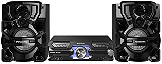 Panasonic SC-AKX710GSK Compact Stereo Mini System with DJ, Jukebox App & Karaoke Features