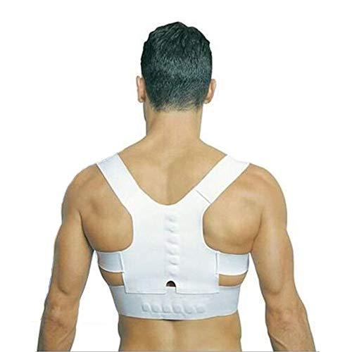 HELIALTH Haltungskorrektur - Magnetische Rückenstütze für Rückenschmerzen - Korrektur der Körperhaltung und Linderung von Müdigkeit - zur Linderung von Rückenschmerzen,M